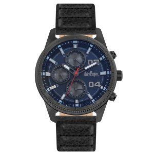 LEE COOPER Black Leather Strap