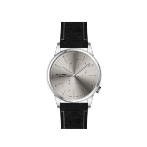 LEE COOPER Gents Black Leather Strap